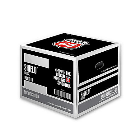 Phillips 66 Shield Choice Synthetic Blend Motor Oil 5W-30 (12/1 Quart Bottles)