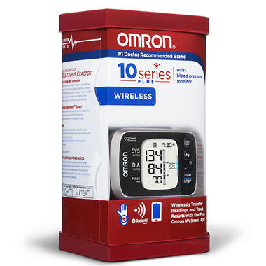 Omron 10 Series Wireless Wrist Blood Pressure Monitor With Bluetooth