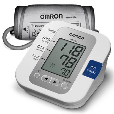 Omron Arm Auto Digital BPM 60 Memory HEM-7200 - (Puerto Rico Only)