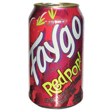 Faygo Redpop (12 oz. cans, 24 pk.)