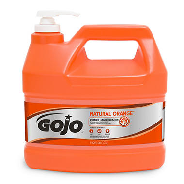 GOJO Natural Orange Pumice Hand Cleaner (1 gal. pump)