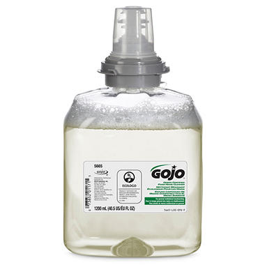 GOJO TFX Green-Certified Foam Hand Wash Refill, Unscented (1200ml)