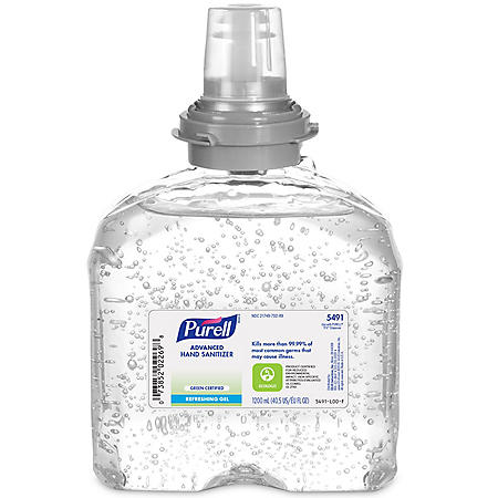 Purell TFX Green Certified Instant Hand Sanitizer Gel Refill - 40.5 oz.