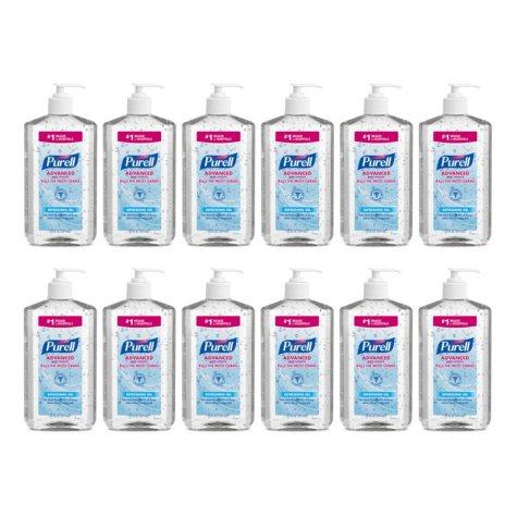 Purell Hand Sanitizer, Pump Bottle (20 oz., 12 ct.)