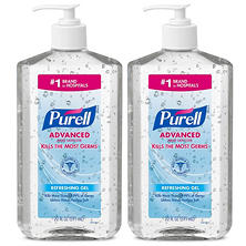 PURELL Advanced Instant Hand Sanitizer (20 oz. pump, 2 pk.)