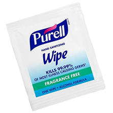 PURELL Sanitizing Hand Wipes, Individually Single Wrapped (300 ct.)