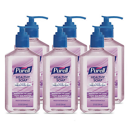 Purell Healthy Soap, Various Scents (12 fl. oz., 6 pk.)