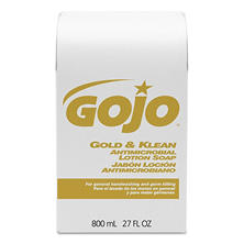 GOJO Gold and Klean Lotion Soap Refill (800ml)