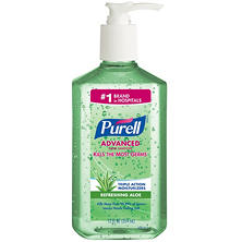 Purell Instant Hand Sanitizer with Aloe, Pump Bottle (12 oz.)