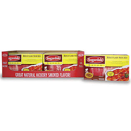 Sugardale® Sliced Bacon - 4 lb.