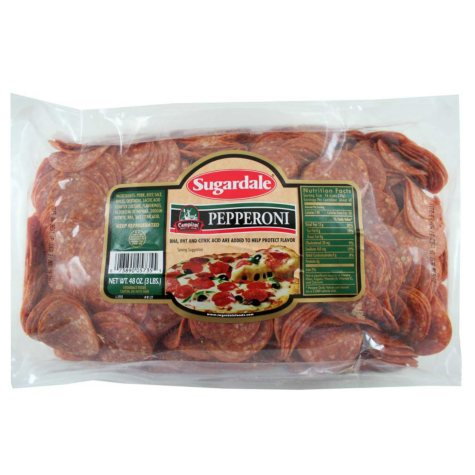 Sugardale Campioni Style Pepperoni (3 lb.)