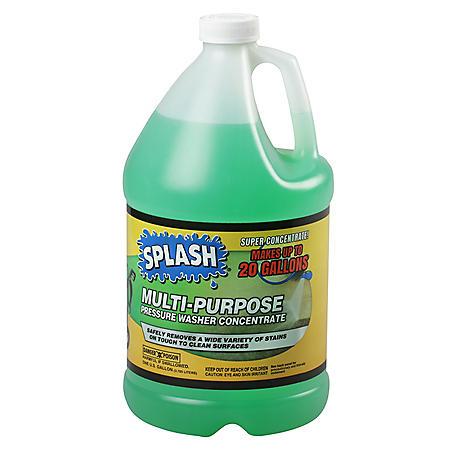 Splash Multi-Purpose Pressure Wash Concentrate (1 gallon)