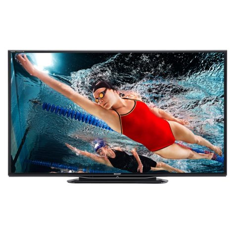 "70"" Sharp Aquos LED 1080p 240Hz Smart HDTV w/ Wi-Fi and Quattron Color Technology"