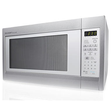 Sharp 2 Cu Ft Stainless Steel Countertop Microwave