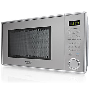 Sharp 1 Cu Ft Stainless Steel Countertop Microwave