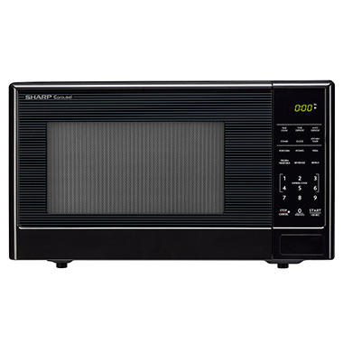 Sharp Compact 1.1 cu.ft. Countertop Microwave Oven