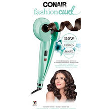 Conair Fashion Curl Lightweight Automatic Curler, Mint