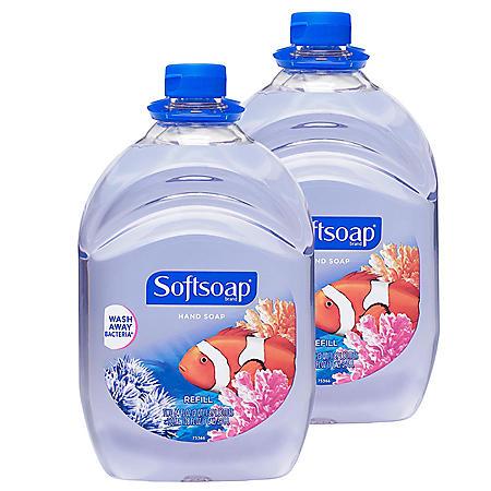Softsoap Liquid Hand Soap Refill (64 fl. oz., 2 pk.)