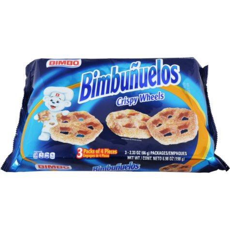 Bimbunuelos - 2.3 oz. pk. - 3 pc. ea. - 4 pks.