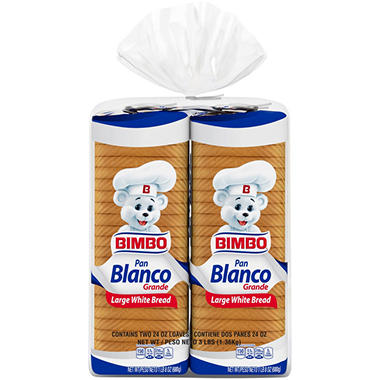Bimbo White Sandwich Bread (2 pk.)