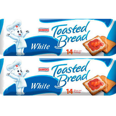 Bimbo Toasted Bread (14.1 oz., 2 pk.)