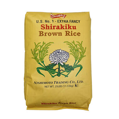 Shirakiku Brown Rice (25 lb.)