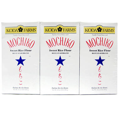 Koda Farms Mochiko Sweet Rice Flour (16 oz. bag, 6 pk.)