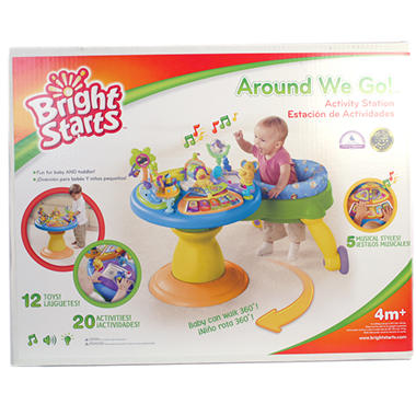 Bright Starts Around We Go Activity Station