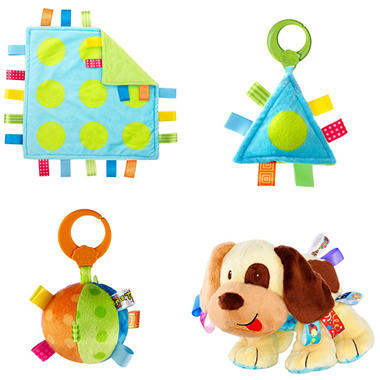 Taggies Cuddles 'n Tags Gift Set - 4 pk.