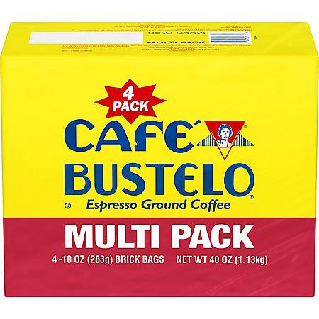 Cafe Bustelo Ground Coffee (10 oz., 4 pk.)