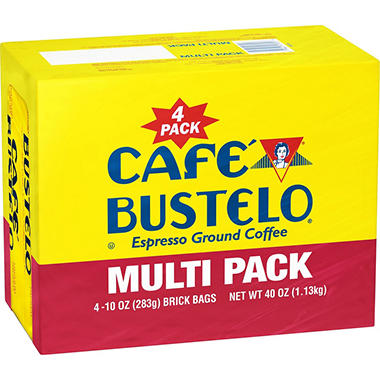 Cafe Bustelo Ground Coffee (10 oz., 4 pk.)