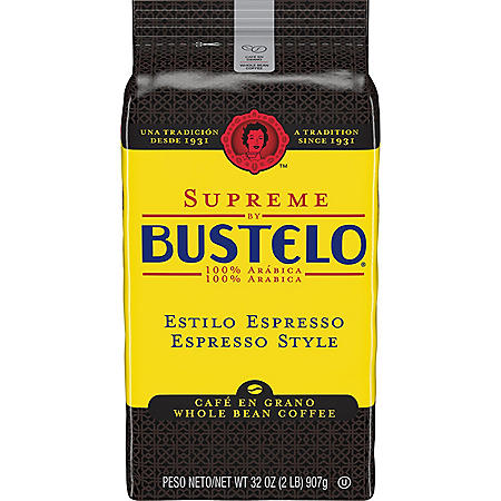 Cafe Bustelo Whole Bean Supreme Coffee (32 oz.)