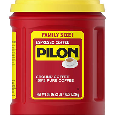 Pilon Ground Coffee (36 oz.)