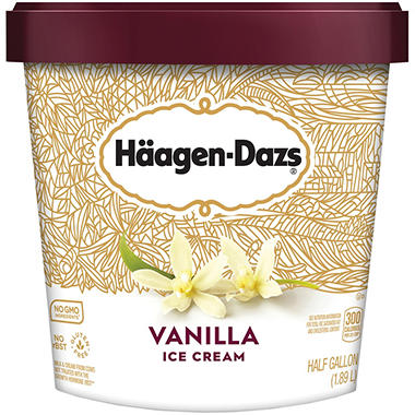 Häagen-Dazs Vanilla Ice Cream (64 oz.)