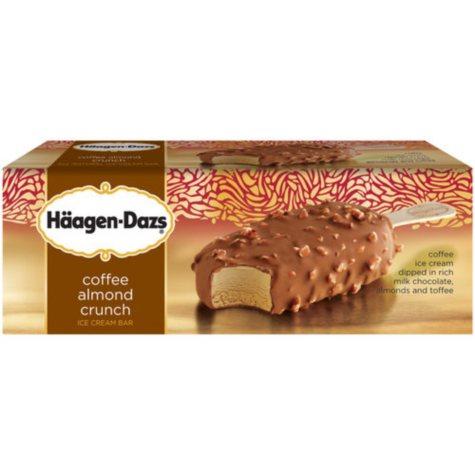 Häagen-Dazs Coffee Almond Crunch Ice Cream Bars (3.67 oz., 12 ct.)