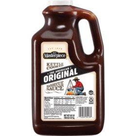 KC Masterpiece Barbecue Sauce, Original (158 oz.)