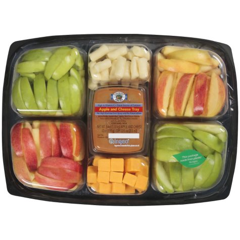 Country Fresh Apple & Cheese Tray - 54 oz.