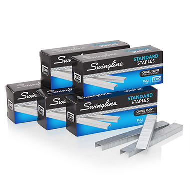 Swingline® Standard Staples, 1/4