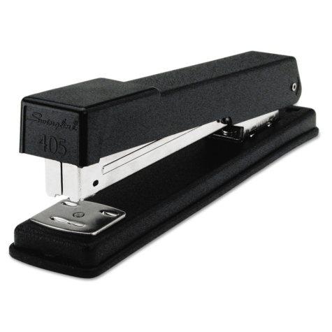 Swingline - Light-Duty Full Strip Desk Stapler, 20-Sheet Capacity -  Black