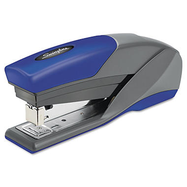 Swingline - Light Touch Reduced Effort Full Strip Stapler, 20-Sheet Capacity -  Blue
