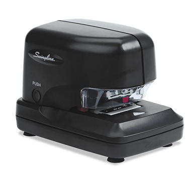 Swingline - High-Volume Electric Stapler, 30-Sheet Capacity -  Black