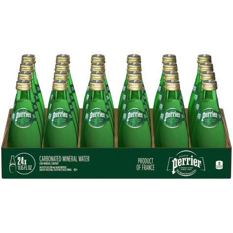 Perrier Sparkling Natural Mineral Water (11.15 oz. bottles, 24 ct.)