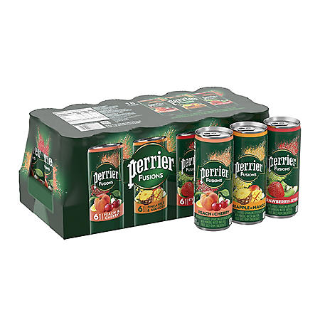 Perrier & Juice Variety Pack (11.15oz. / 18pk.)