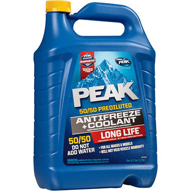 PEAK Long Life 50/50 1 GALLON - 2 pack