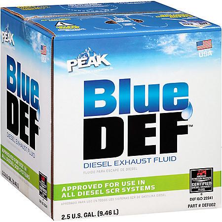 BlueDEF Diesel Exhaust Fluid (2.5 gal.)