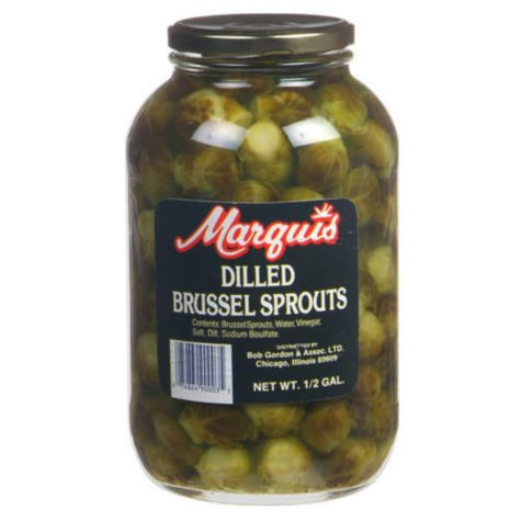 Marquis Dilled Brussel Sprouts - 1/2 gal.