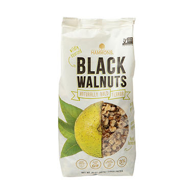 Hammons Black Walnuts - 24 oz. bags