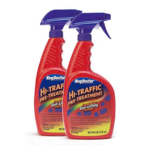 Hi-Traffic Pre-Treatment Carpet Cleaner - 2 (24 oz.) Bottles