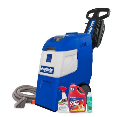 Rug Doctor Mighty Pro X3 Carpet Cleaning Machine Cleaning Package
