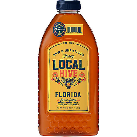Local Hive Florida Raw & Unfiltered Honey (48 oz.)